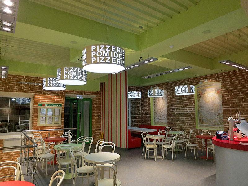 фото интерьер пиццерии
