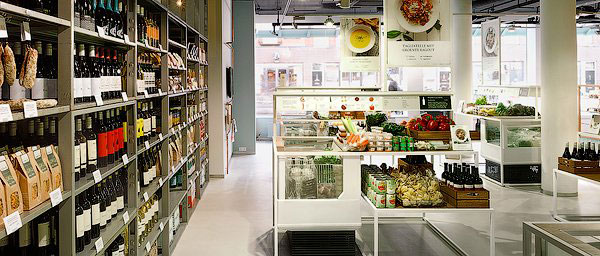 дизайн продуктового магазина