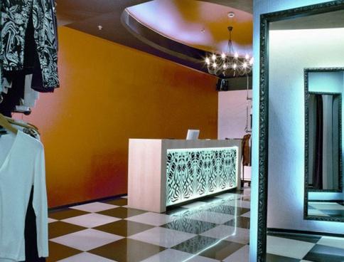 Дизайн  магазина одежды в торговом комплексе «РИО». 100 кв.м. Москва. Фото